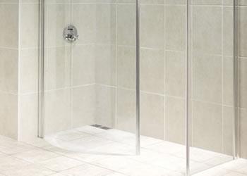 Wet rooms fiberglassed by Eden Pools