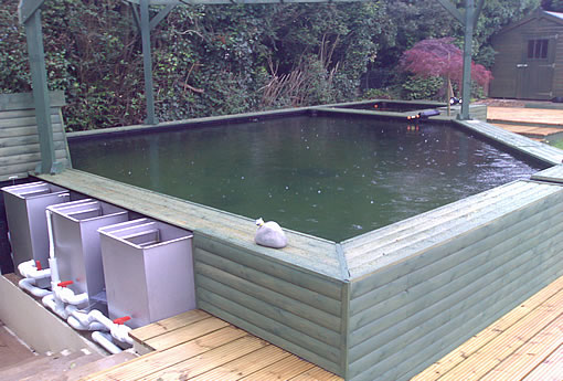 Eden pools ltd swimming pool and fibreglass specialists for Koi pond builders uk