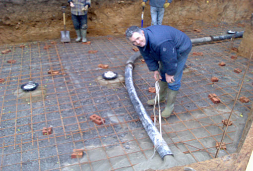 Eden pools ltd swimming pool and fibreglass specialists for Koi pond bottom drain setup